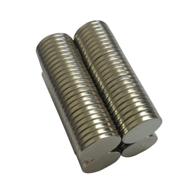 10pcs Round Dia 12x1mm Mini Super Strong Rare Earth Fridge Permanent Magnet Small Round Neodymium Magnet Home Decorations Fridge