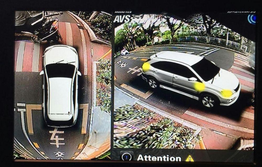 SZDALOS Car Multi angle Camera 3D View Surround View System 360 Degree Bird View Panorama System