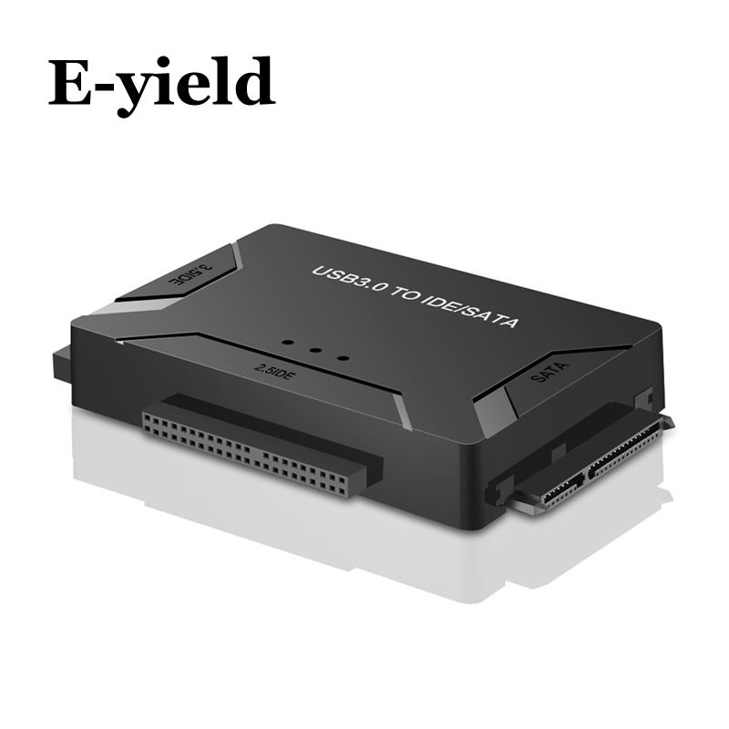 USB 3.0 to SATA IDE ATA Data Adapter 3 in 1 for PC Laptop 2.5 3.5 HDD Hard Disk Driver With Power