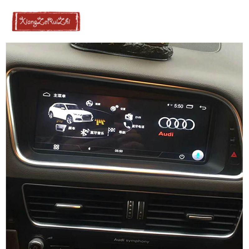 8,8 zoll Android auto GPS dvd multimedia navigation Für AUDI Q5 (2009-2017) mit radio/video/USB/WIFI