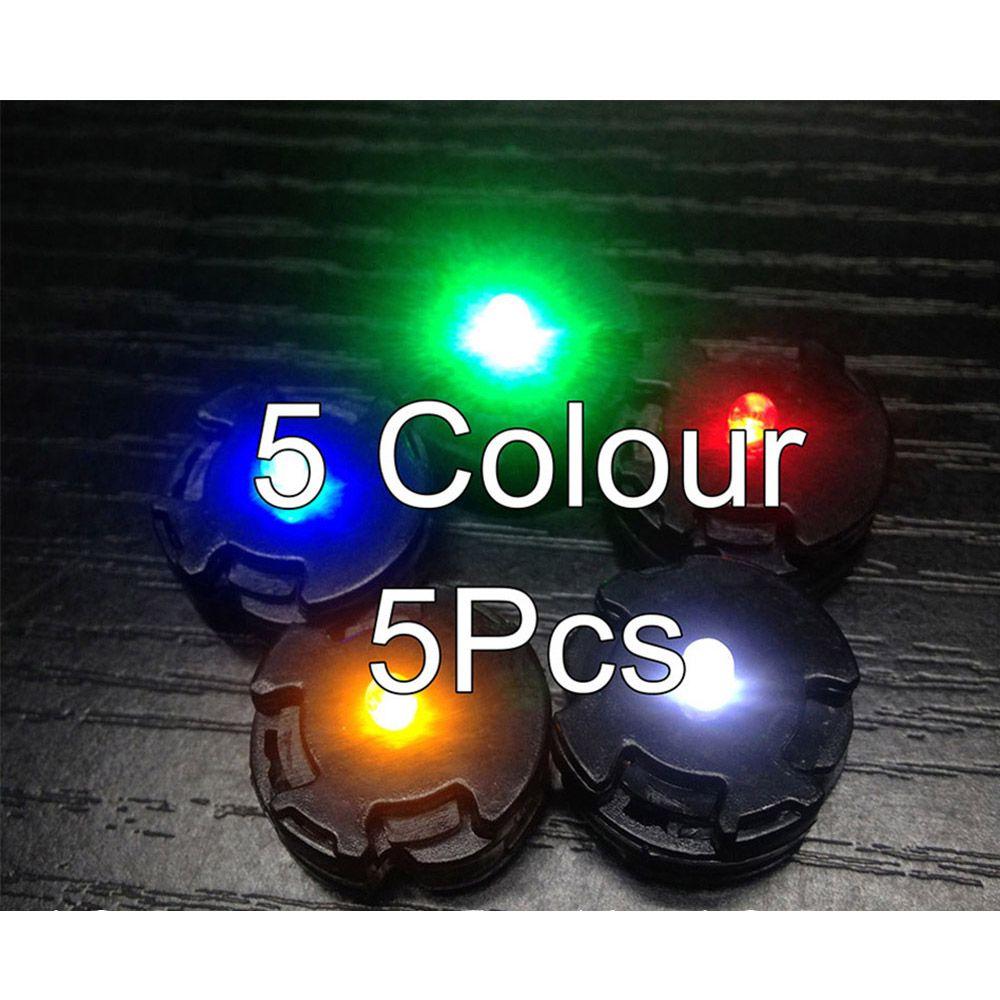 5 pièces/ensemble modifier les lumières de LED communes pour MG 00Q 00R RX78 3.0 EXIA Nu Gundam Sazabi ver ka Jesta Assemb LED gundam modèle Robot