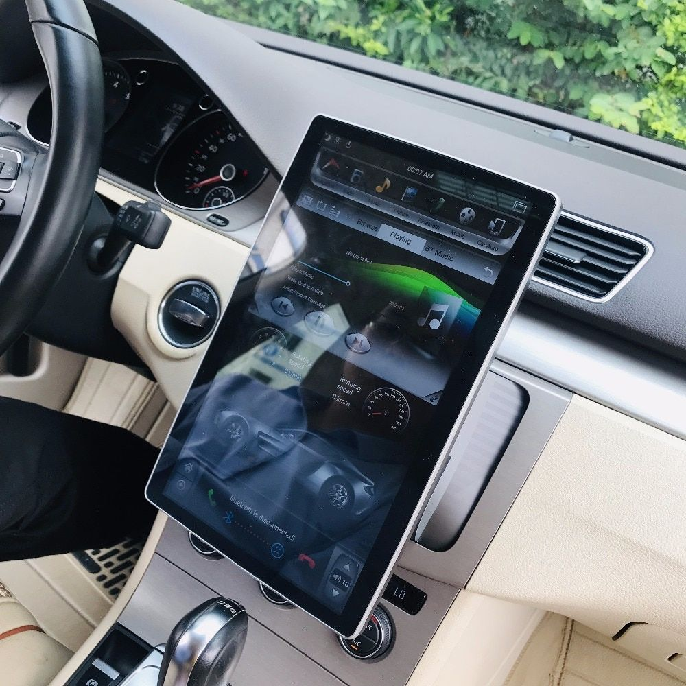 1920*1080 IPS Screen 2 din 12,8 6-Core Android 8.1 Universal Auto dvd Player Radio GPS Bluetooth WIFI Easy Connect 2 GB/4 GB + 32 GB
