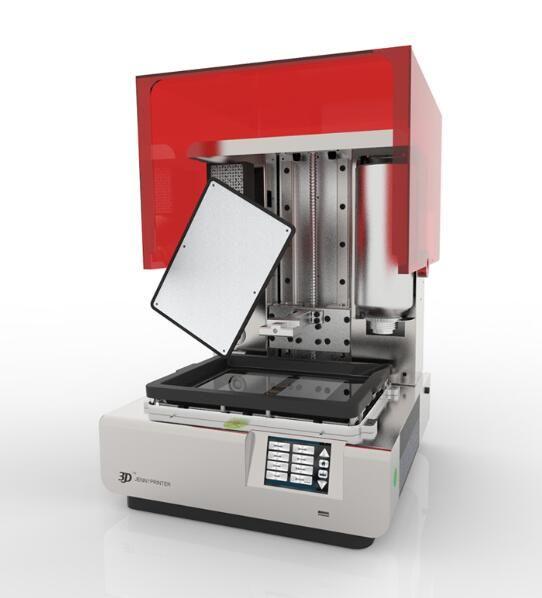 Large size Jenny LCD light curing second generation high precision jewelry casting 3D printer sla Dlp photosensitive resin