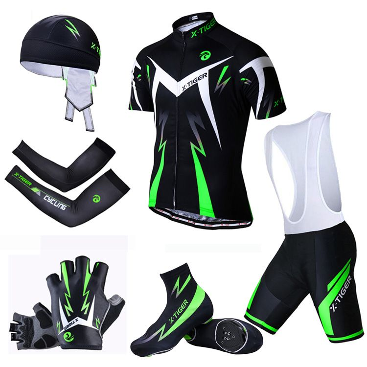 X-Tiger Summer Big Cycling Set ! 2018 MTB Bike Clothing Racing Bicycle Clothes Maillot Ropa Ciclismo Cycling Jersey Sets