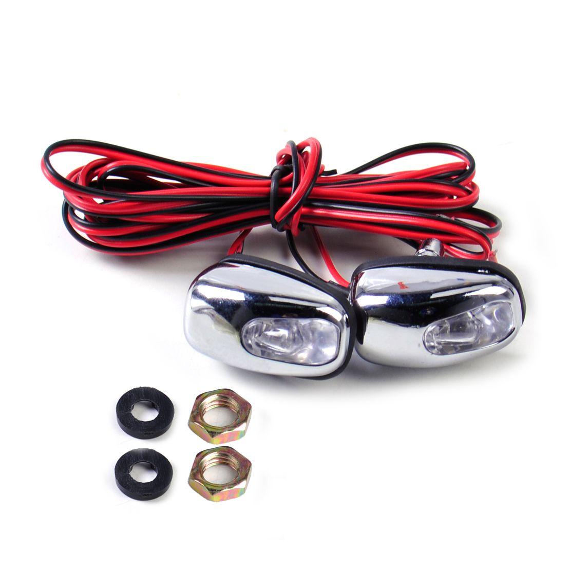 Beler Универсальный 2 шт. светодиодный свет лампы Омыватель стеклоочистителей струи воды форсунки носик стеклоочиститель глаз для Mercedes audi toyota