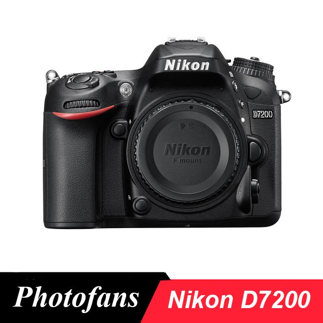 Nikon D7200 DX-format Digital SLR Kamera Körper, 24,2 Megapixel, DX-format CMOS, Wifi, 51 punkt AF, (Marke Neue)