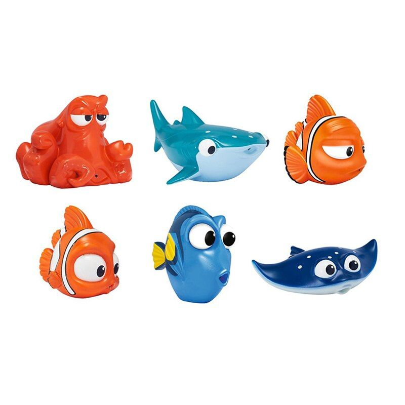 Small Fish Drink Float Water Swimming Child's Play Bath Swim Toy Swimming Kids Toys for Girls Children Dabbling Bath Toys