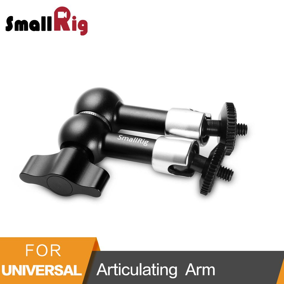 SmallRig 7 inch Adjustable Friction Power Articulating Magic Arm with Both 1/4