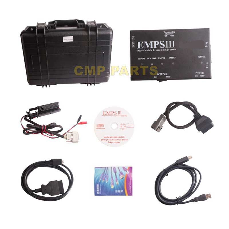 V2012.5 EMPSIII Engine Diagnostic Tool for ISUZU EMPS 3 Truck Programming Plus with Dealer Level Diagnostic Tools