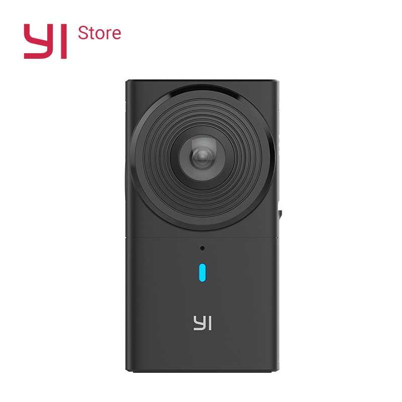 YI 360 Kamera VR Cam 220 grad Dual Objektiv 5,7 K/30fps Immersive Mühelose Panorama Kamera Digital kamera