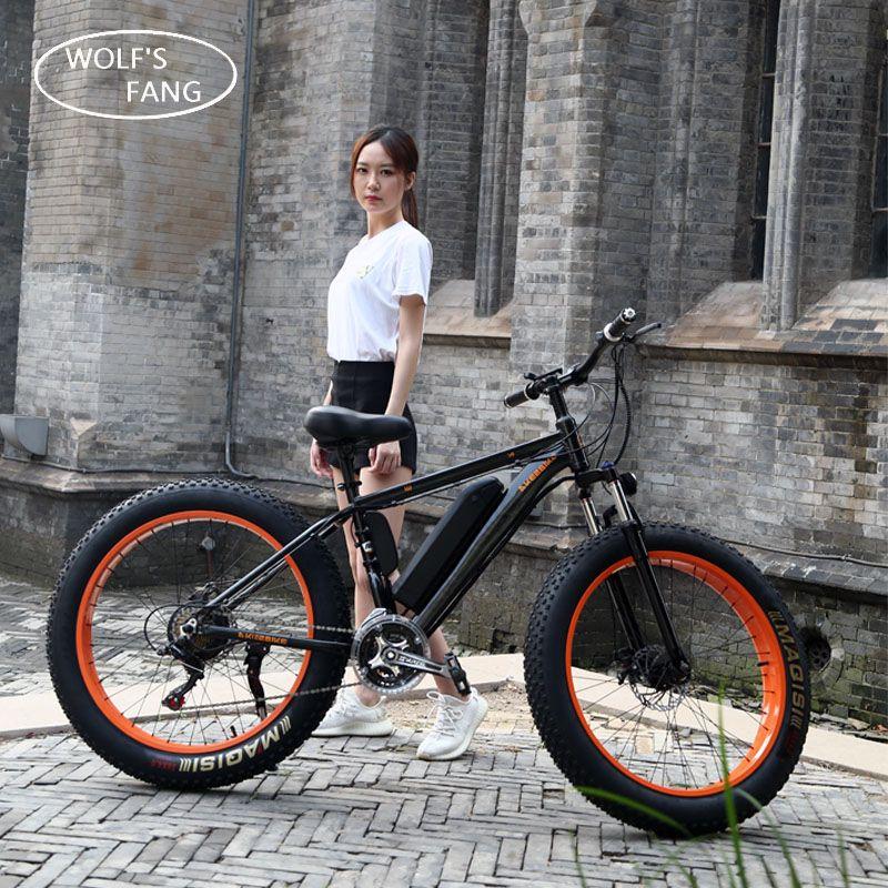 Electric Bike 26x4.0