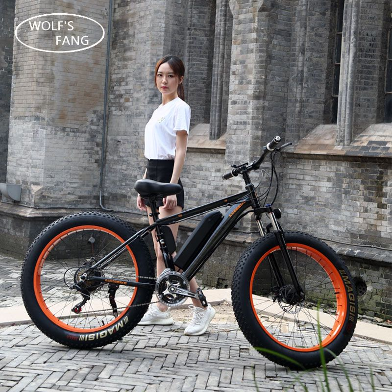 Electric Bike 26x4.0