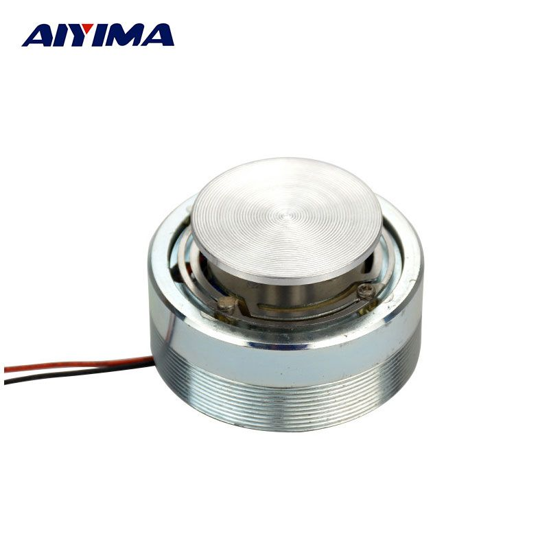 1Pc AIYIMA 2Inch Resonance Speaker Vibration Strong Bass Louderspeaker All Frequency Horn Speakers <font><b>50mm</b></font> 4 Ohm 25 W