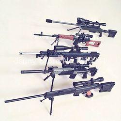 5 Terbaru Senapan Sniper 1:6 SVD, PSG-1, MK14, DSR-1, TAC-50, gun Perakitan Model Bangunan Kit Detail Desain Perakitan Sederhana