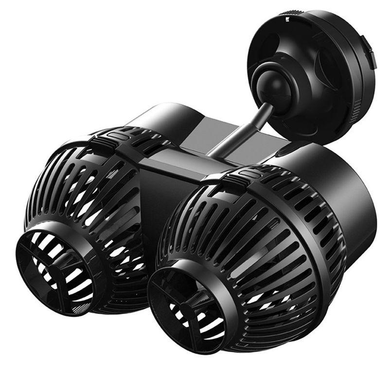 5000lph SUNSUN JVP-200B Wave Maker Aquarium Circulation Pump Submersible Powerhead with Magnetic Base for Fish Tank Coral Reef
