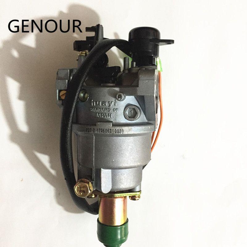 5KW Carburateur HUAYI Pour 13HP EC6500 EC4500 SPG6500 GX390 188F MOTEUR générateur, 5.5kw EC6500, TG6500, LT6500 GÉNÉRATEUR CARBURATEUR