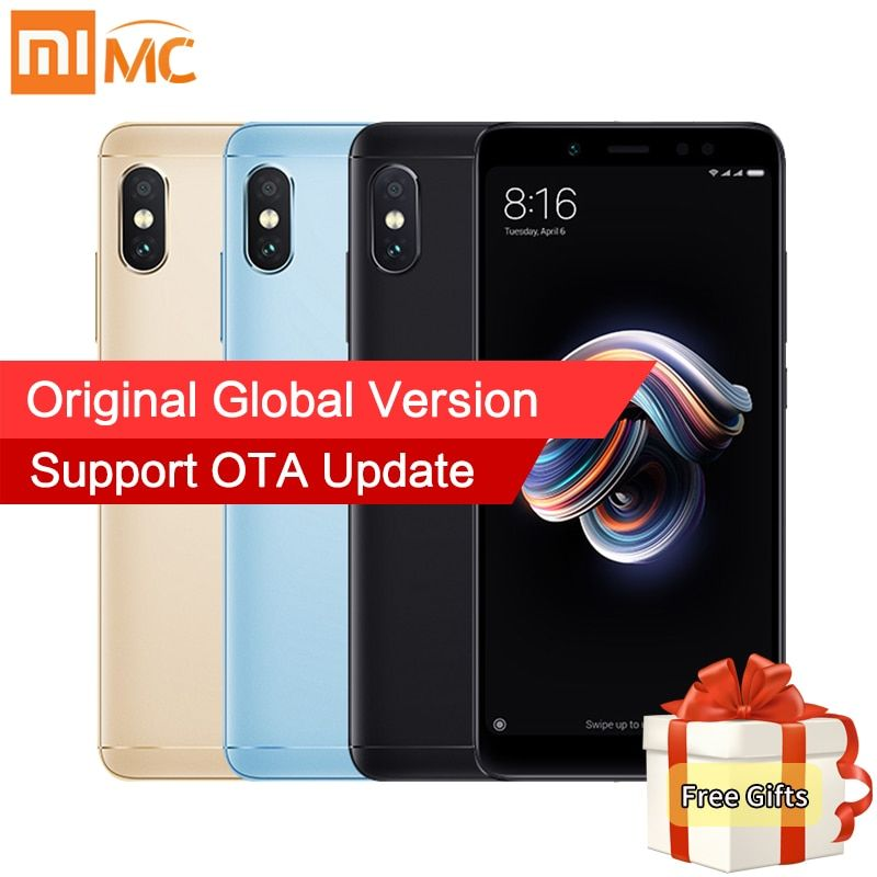 Global Version Xiaomi Redmi Note 5 4GB 64GB 5.99