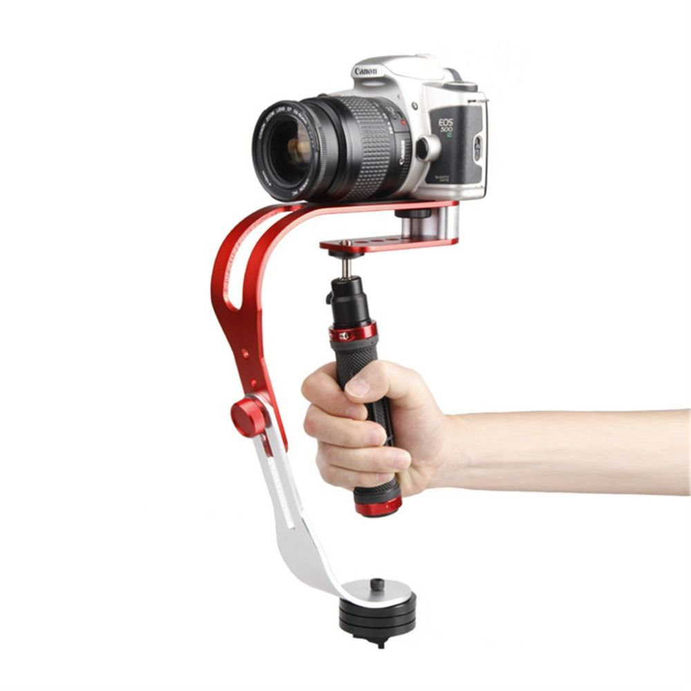 New HandHeld Aluminum Alloy Stabilizer For DSLR Camera Camcorder For Gopro Wholesale Drop Shipping