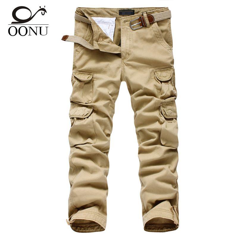 Freies Verschiffen Mens jogger casual Pants militärarmee frachtkampf Lose arbeiten hose Im Freien Reißverschluss Casual Dress größe 30-40 #