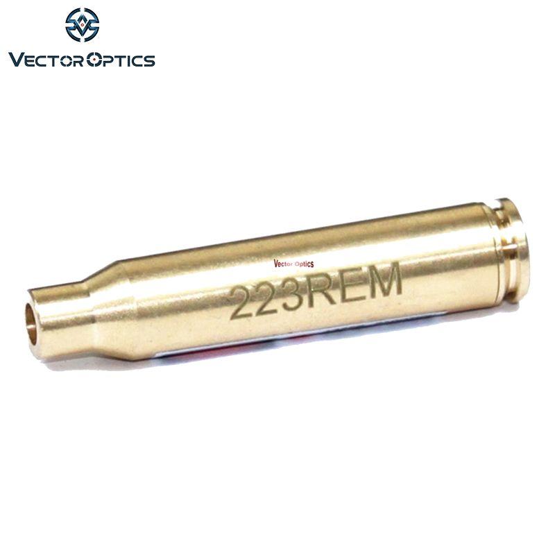 Optique vectorielle. 223 Remingtonn 5.56mm cartouche Laser rouge alésage Sighter Boresight Fit pour. 223 5.56mm Mini-14 livraison gratuite