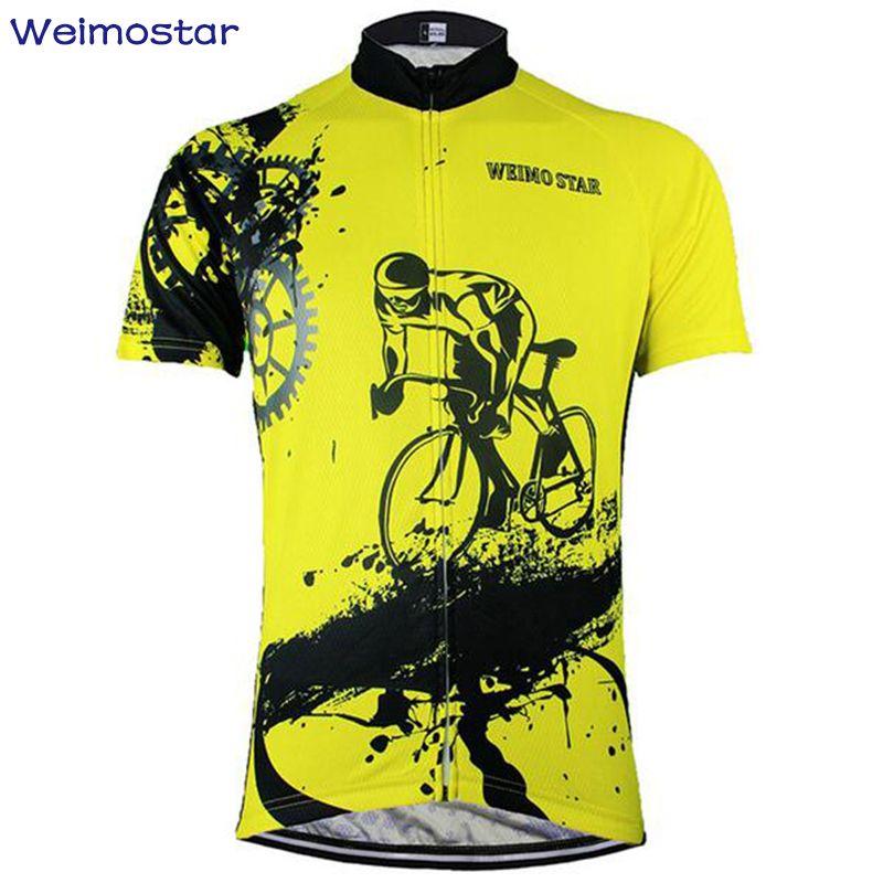 Новый weimostar команды Велоспорт велосипед Велосипедный Спорт Костюмы одежда Для женщин Для мужчин Велоспорт Джерси куртка Велоспорт Джерси Т...