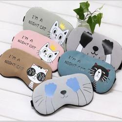 Sleeping Eye Mask Soft Padded Sleep Travel Shade Cover Rest Relax Sleeping Blindfold 2AU21