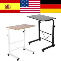 Altura ajustable mesa de ordenador portátil mesa de pie muebles sofá cama carro portátil bandeja standaard de ordenador para la cama