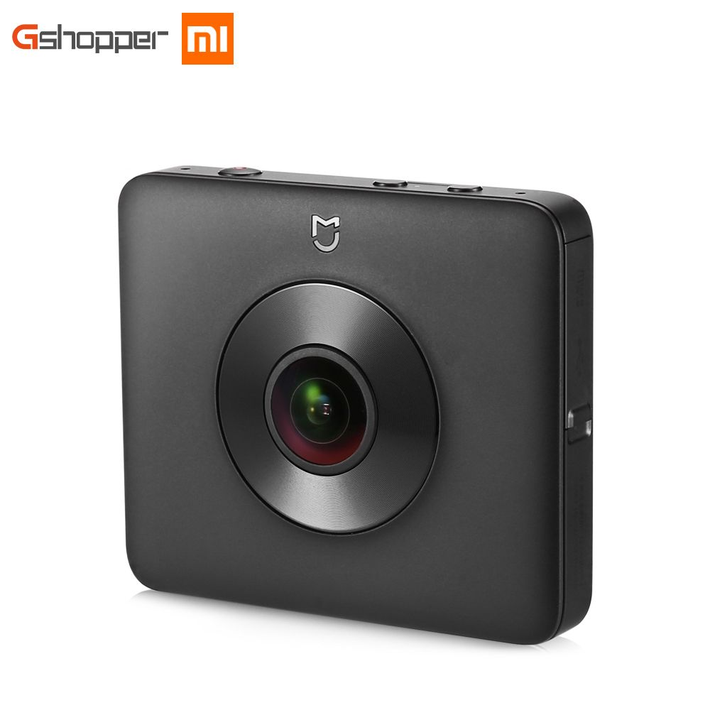 Original Xiaomi Mijia Panoramic Camera 6-Axis Anti-shake Webcam CMOS Sensor 16MP Pixels 3.5K Video Recording IP67 Waterproof