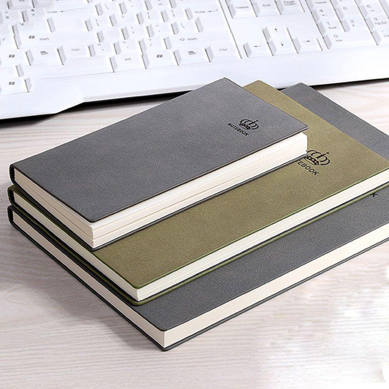 RuiZe vintage en cuir mat cahier A5 B5 A6 à la main créatif relié journal carnet de notes créatif papeterie fournitures de bureau