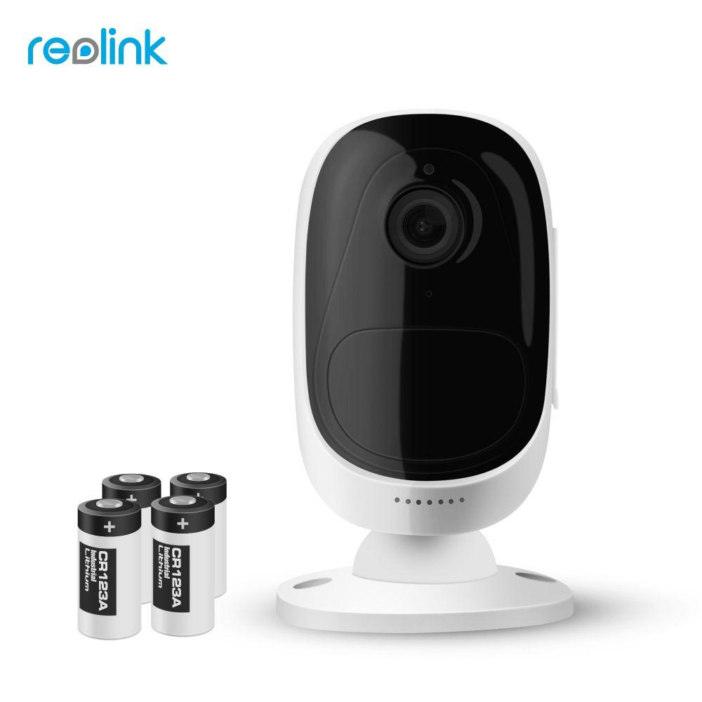 Reolink Argus Wireless WiFi Free Battery IP Camera Full HD 1080P 2MP Outdoor Indoor IP65 Weatherproof Security Cam Wide View