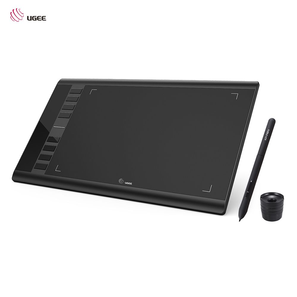 Ugee M708 Ultra-thin Draw Digital Graphics <font><b>Drawing</b></font> Painting Tablet Pad 10 * 6 Active Area 8192 Level Pressure Sensitivity