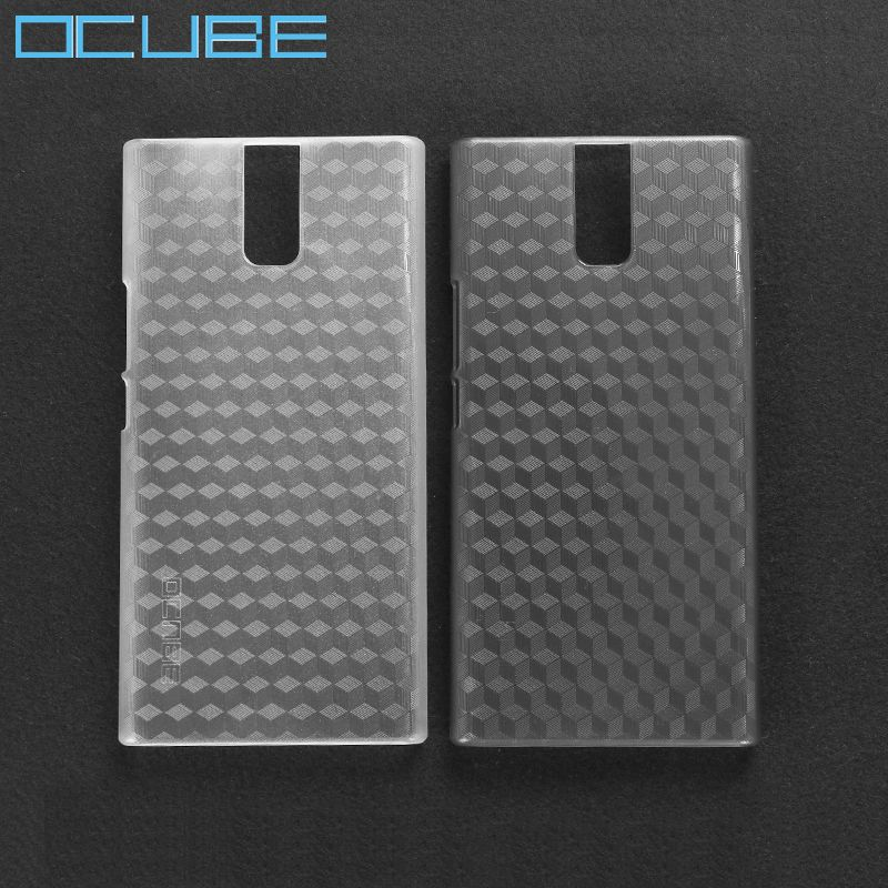 ocube Oukitel K3 Case Cover Clear Hard Plastic Phone Cases Protective Shell Back Cover For Oukitel K3 Mobile Phone 5.5''