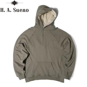 Модные Для мужчин hooides теплые улица хип-хоп Уличная pure толстовки Одежда Костюмы флис дизайнерские зимние