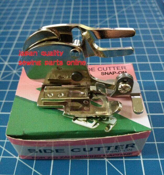 Side Cutter Foot Snap-on For Zig Zag Househole Sewing Machine Whipstitch Presser Foot Fast Installation Fast Disassembly True