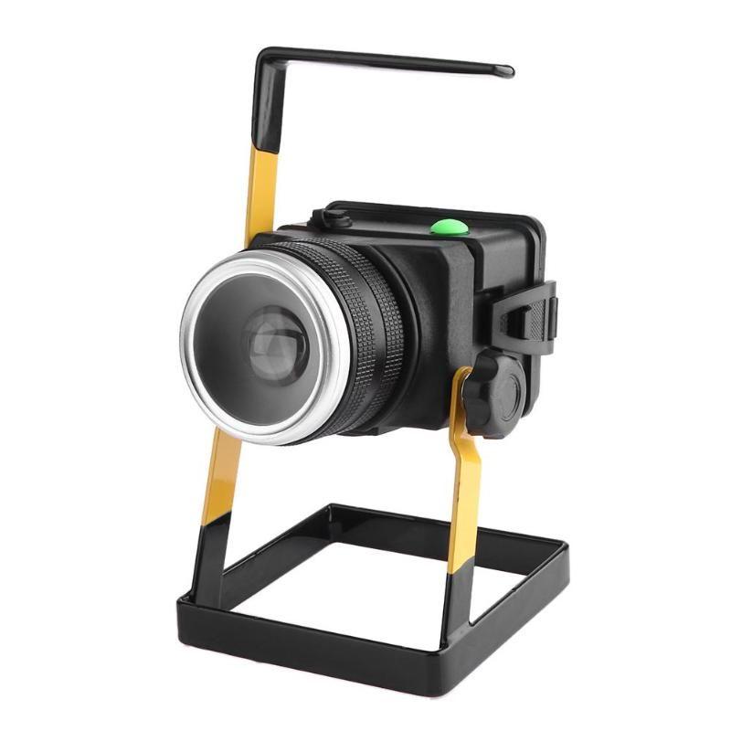 T6 LED Rotierenden Zoom Flutlicht Spotlight Aufladbare Suchscheinwerfer Lange Palette Nacht Licht Wasserdichte Portable Outdoor Laterne