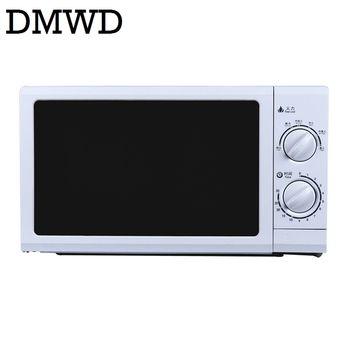 DMWD 700 W Ménage Micro-ondes Four MINI multifonction electirc Cuisson machine 30 minutes Mécanique Minuterie Contrôle 20L US plug UE