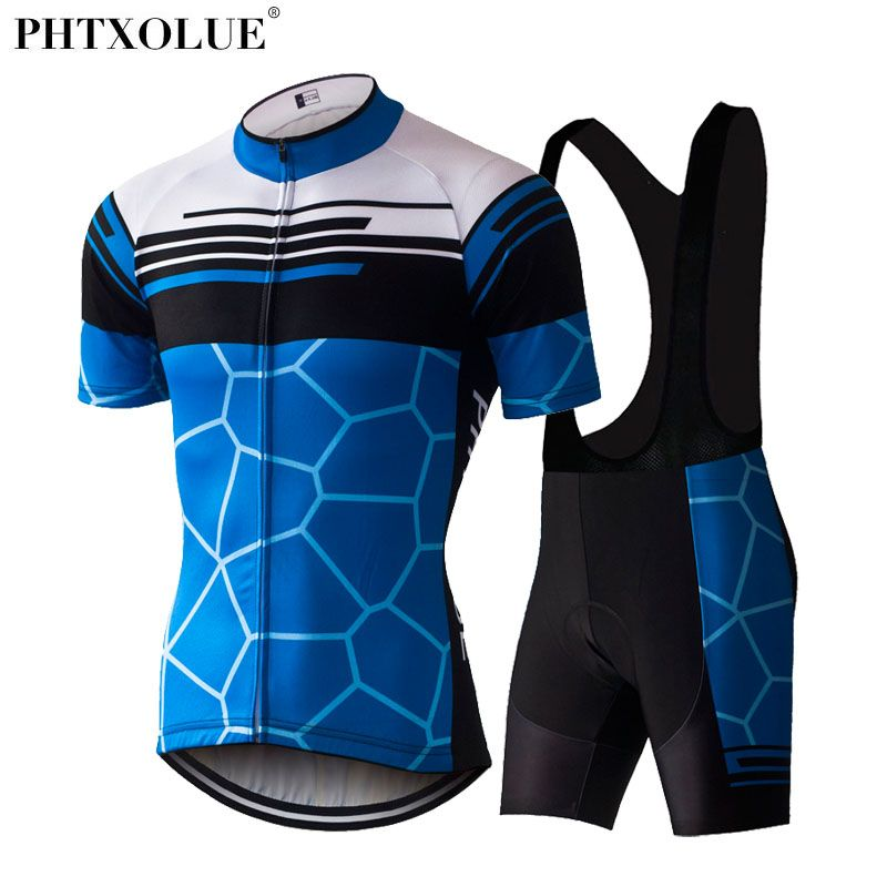 PHTXOLUE 2017 Cycling Clothing Summer Bicycle Ropa Ciclismo Hombre Mtb Bike Jerseys Maillot Ciclismo Cycling Jerseys Set