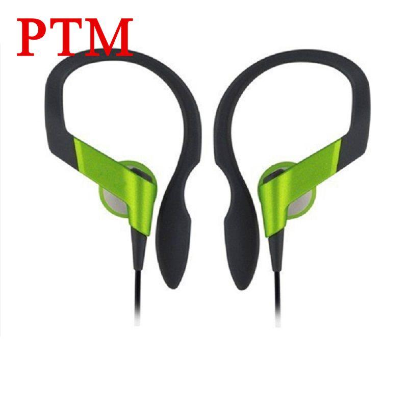 PTM HS33 Auricular de Cancelación de Ruido Auriculares de Alta Calidad Portátil Bass Deporte Auricular Del Gancho Del Oído para el iphone xiaomi Teléfono MP3 MP4