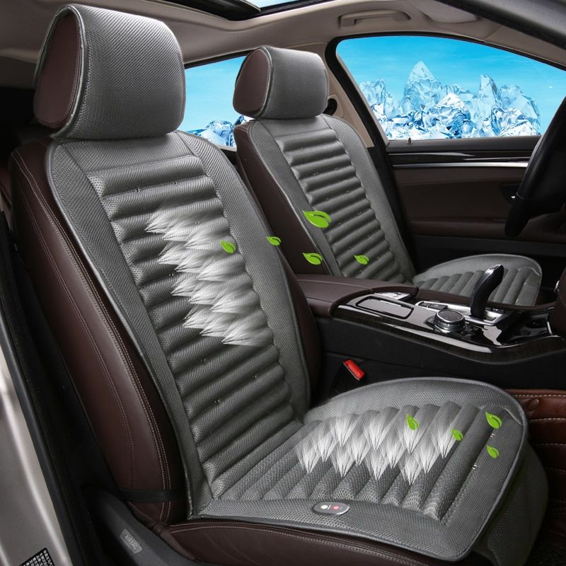 Eingebauten Lüfter Kissen Luft Zirkulation Belüftung Auto Sitz Abdeckung Für Volvo C30 S40 S60L V40 V60 XC60 XC90 SUV Serie