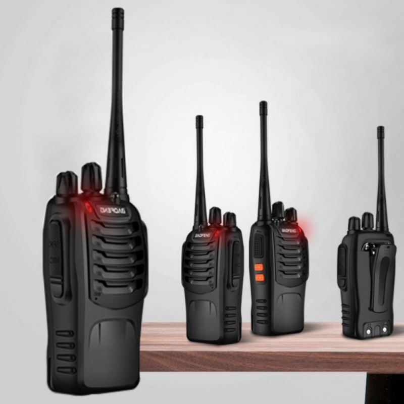 1Pcs Baofeng BF-888S Walkie Talkie Portable Radio 5W 16CH UHF 400-470MHz Comunicador Transmitter Transceiver Walkie-Talkie