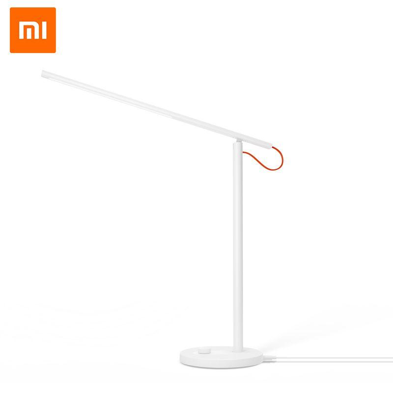 D'origine Xiaomi Mijia Lampe de Bureau LED Intelligent Lampes de Table Desklight Soutien Contrôle D'appli De Téléphone Portable 4 Modes D'éclairage Lecture LED