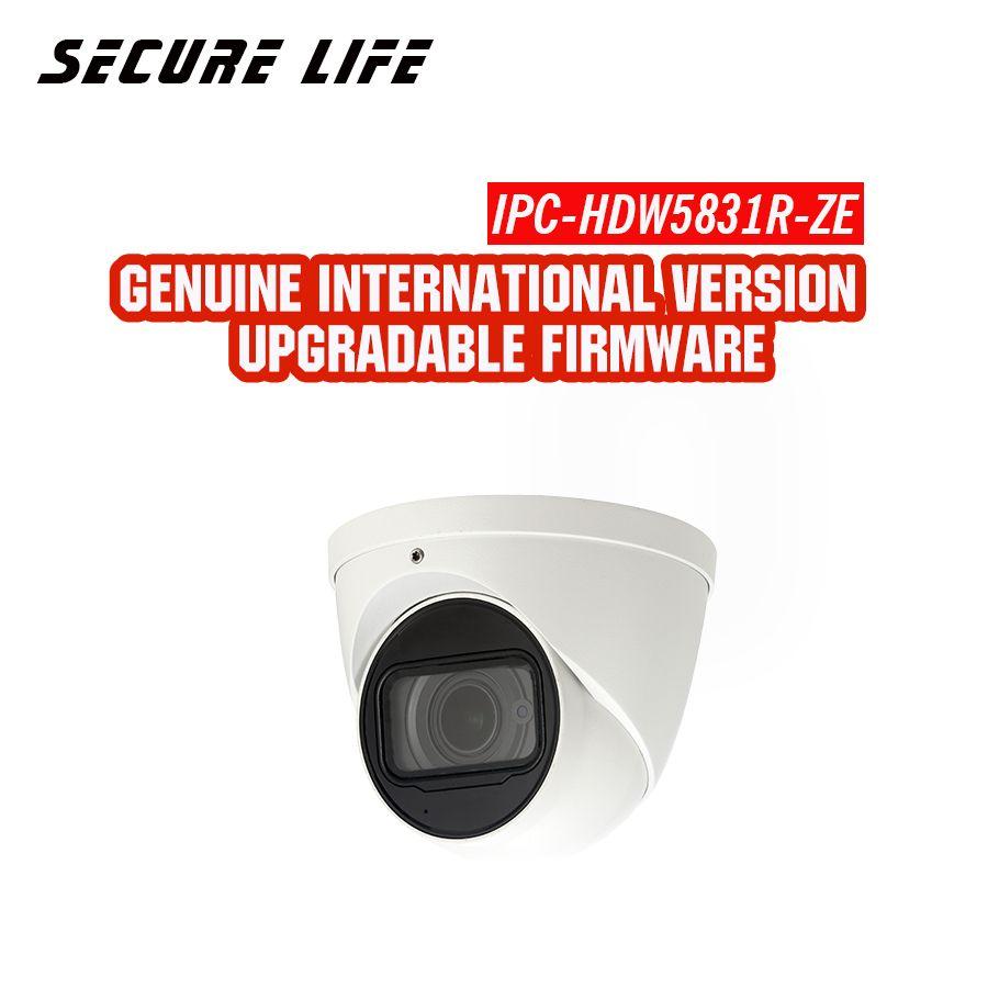 Englisch version mit logo IPC-HDW5831R-ZE 8MP WDR 50 m IR Augapfel Netzwerk cctv ip security Kamera eingebaute mic POE H.265