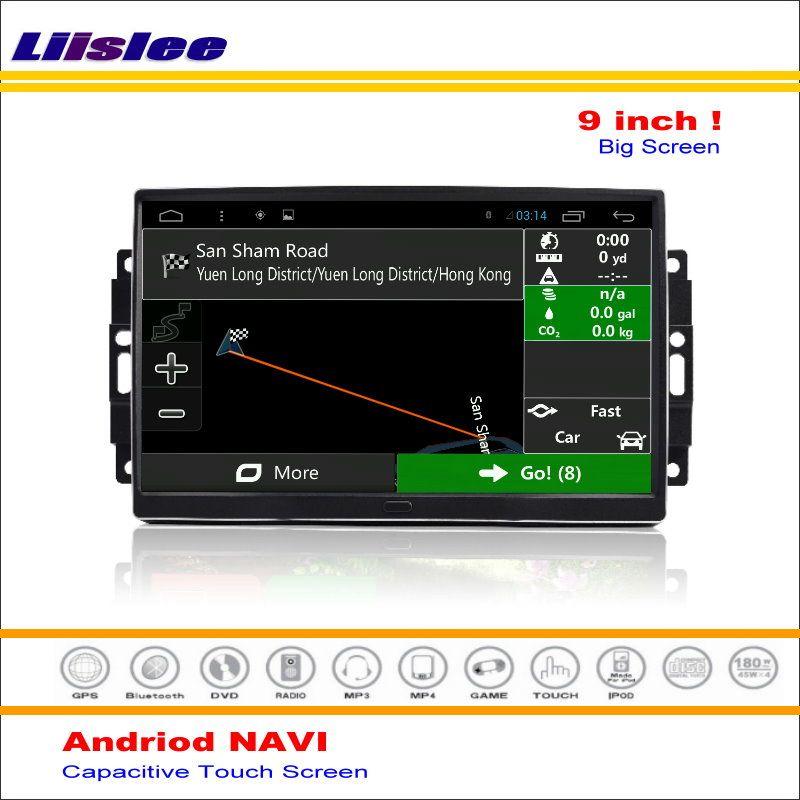 Liislee Auto Android GPS NAV Karte Navigationssystem Für Chrysler 300 300C 2005 ~ 2010 Radio Audio Video Multimedia (keine DVD-Player)
