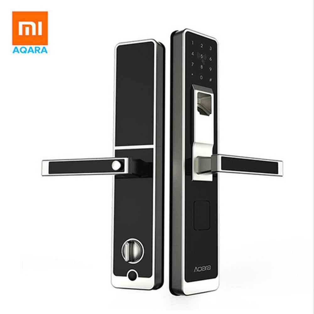 Original xiaomi Mijia aqara Smart door lock ,Digital Touch Screen Keyless Fingerprint+Password work to mi home app phone control