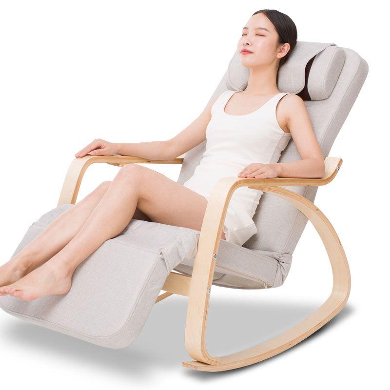 Freizeit Massage Schaukel Stuhl Hause Automatische Kneten Massage Halswirbel Taille Zurück Elektrische Massage Sofa Stuhl