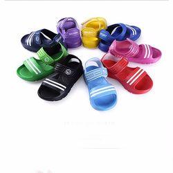 Летние детские сандалии Нескользящие износостойкие Маленькие Мальчики повседневные сандалии для девочек и мальчиков обувь детские летние...