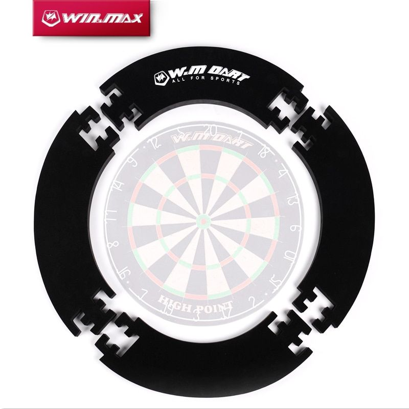 Winmax 4 pièces/pièces 1 ensemble Eva protecteur mural anneau de jeu de fléchettes pour jeu de fléchettes à poils de 18 pouces
