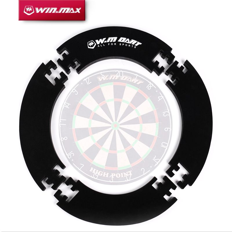 Winmax 4 pieces Eva Wall Protector Dart board Surround for 18 Inch Bristle/ Sisal Dartboard