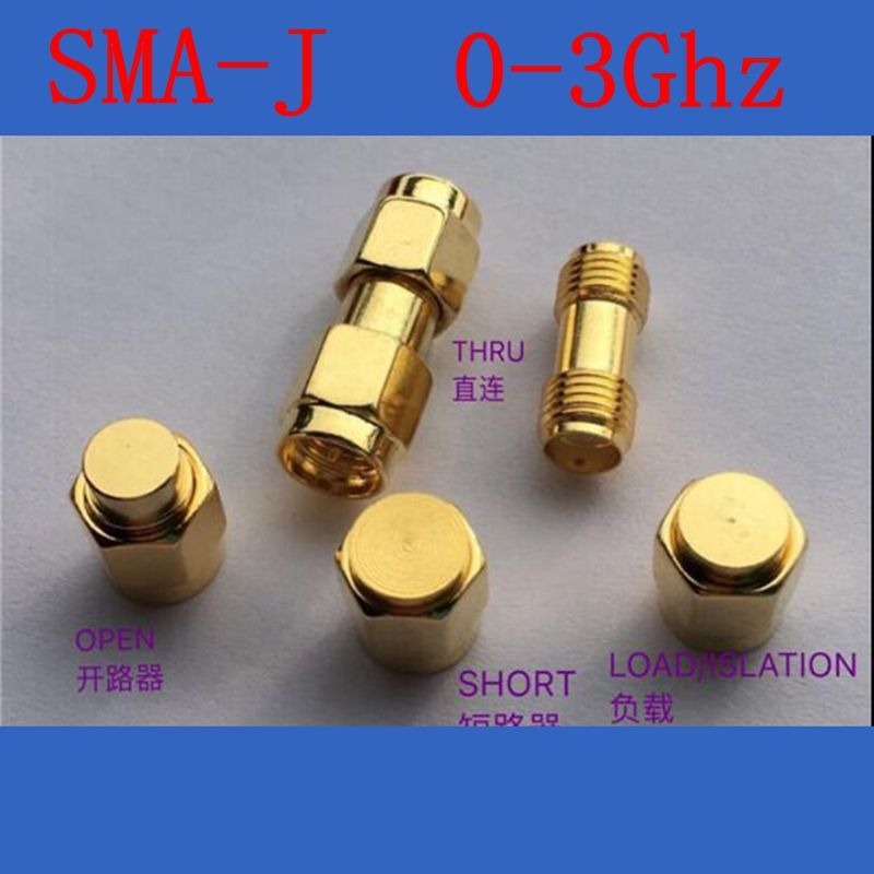 SMA Calibration ,High quality RF Coax dedicated test SMA type,include short type,load type,open type,thru,DC-3Ghz,50 ohm
