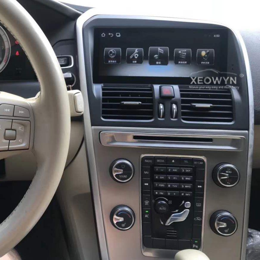 8,8 zoll RAM2G Android 8.0 PX6 Auto Radio Stereo Für Volvo XC60 2009-2015 GPS Navigation Unterstützung reise informaiton volle touch
